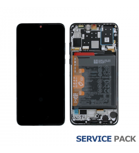 Pantalla Huawei P30 Lite NEW EDITION Breathing Crystal CON MARCO LCD MAR-LX1A 02353FQK SERVICE PACK